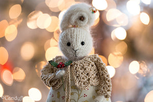 Christmas Rabbit Doll