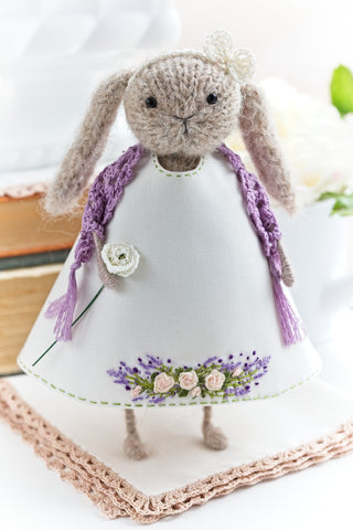 Lady Rabbit Art Doll
