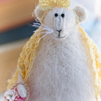 Miss Mouse in a Shawl, colour variations