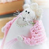 Miss Mouse in Pink roses dress