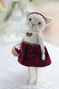 Miniature Cat Doll