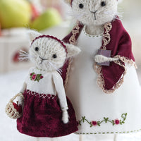 'Mummy and Me' Set of 2 cats