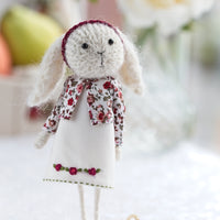 Miniature Rabbit Doll
