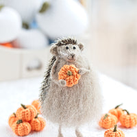 stuffed hedgehog figurine