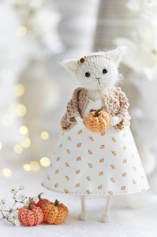 Cat Doll Autumn Home Decoration