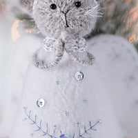 Christmas Angel Cat ornament