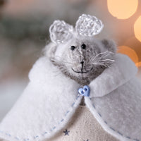 Christmas Mouse with Silver Star