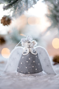 Christmas Angel Mouse ornament