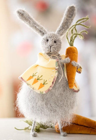 Easter Bunny with a Carrot