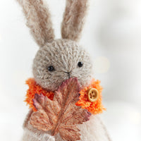 Knitted Bunny, Fall Home Decoration