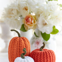 Knitted Pumpkins Sets of 5 or 10