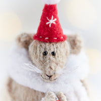 Christmas Mouse with a Star