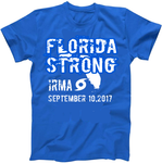FLORIDA STRONG IRMA Gildan Florida Blue 24 pack Special Tees Custom -  Options 1-color front or 2-color front and Custom Back