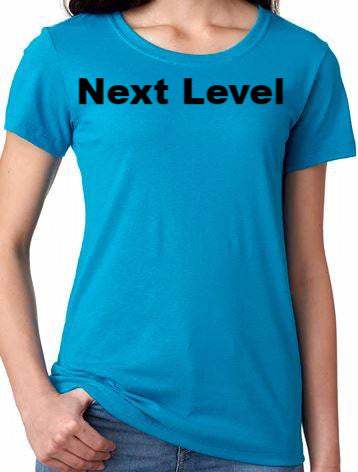 Ladies Next Level Baby Soft Tee