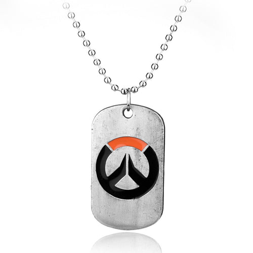 Overwatch Dog Tag Necklace