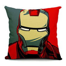 Super Hero Pop Style Throw Pillow Cases