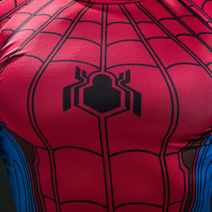 New Spiderman Short Sleeve Compression Shirt