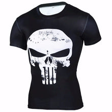 Punisher Short Sleeve Compression Shirt