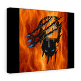 Panther through Fire Canvas Gallery Wraps