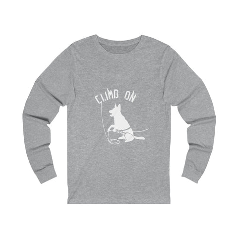 Climb On - Unisex Long sleeve Tee