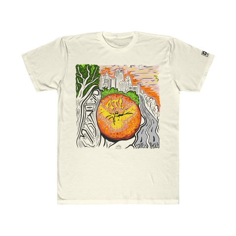 Atlanta Peachy Sunset - Men's Light Tee