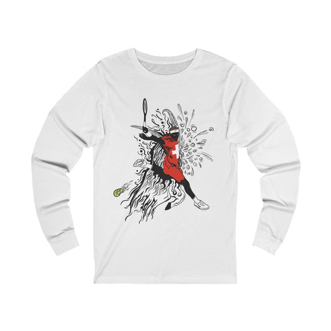 Smashing Serve - Unisex Long sleeve Tee