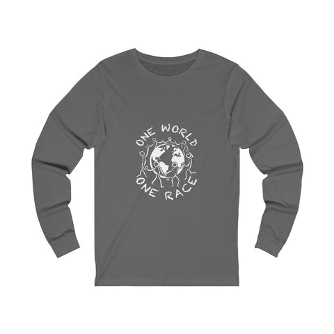 One World One Race - Unisex Long sleeve Tee