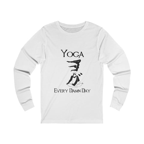 Yoga - Unisex Long sleeve Tee