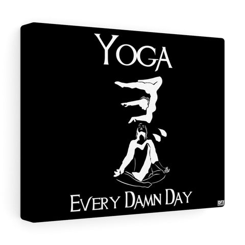 Yoga Daily Canvas Gallery Wraps