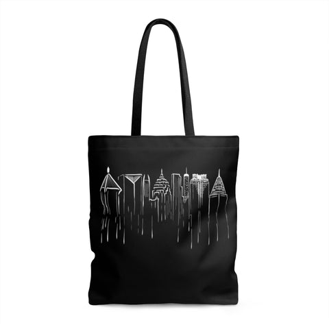 ATLANTA - Black Tote Bag