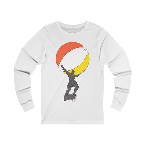 Atlas Beach Ball - Unisex Long sleeve Tee