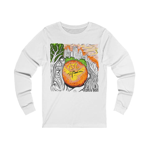 Atlanta Peach - Unisex Long sleeve Tee