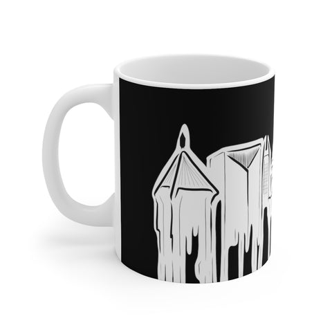 Atlanta Skyline - White Ceramic Mug