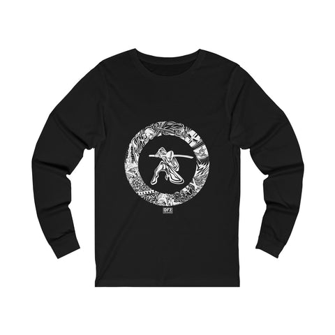 Ninja Warrior - Unisex Long sleeve Tee