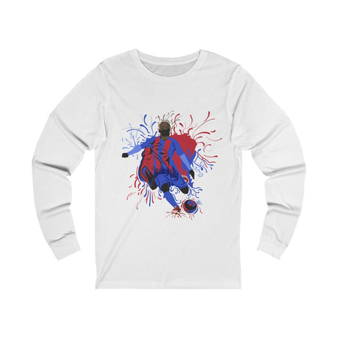 Soccer Splash - Unisex Long sleeve Tee