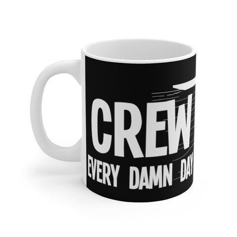 Crew (rowing) - White Ceramic Mug