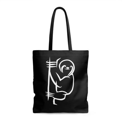 Sloth Love - Black Tote Bag