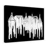 ATLANTA Skyline Canvas Gallery Wraps