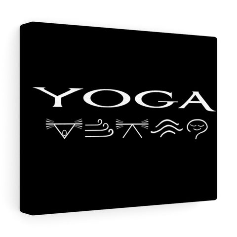 Yoga Canvas Gallery Wraps