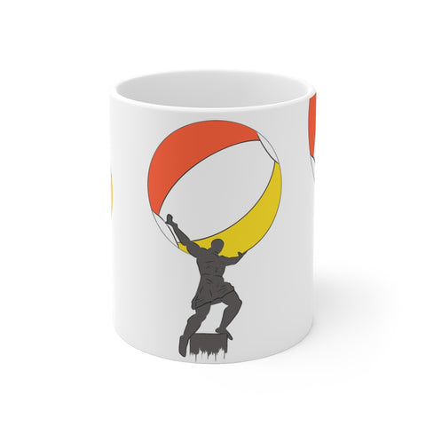 Atlas - White Ceramic Mug V2.0