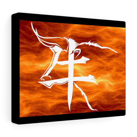Tarus in Fire Canvas Gallery Wraps