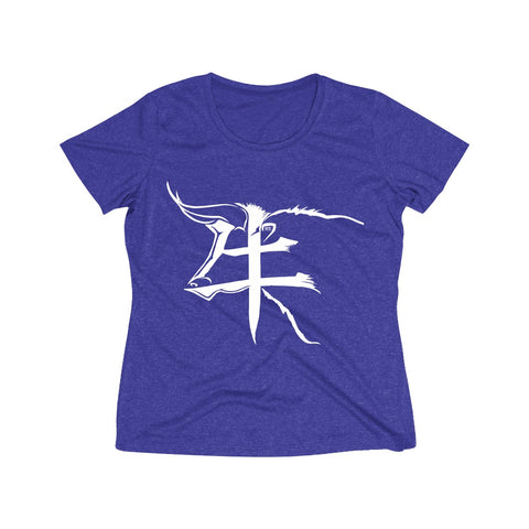 Taurus Women's Heather Wicking Tee