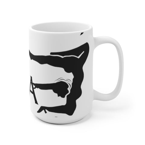 Yoga  - White Ceramic Mug