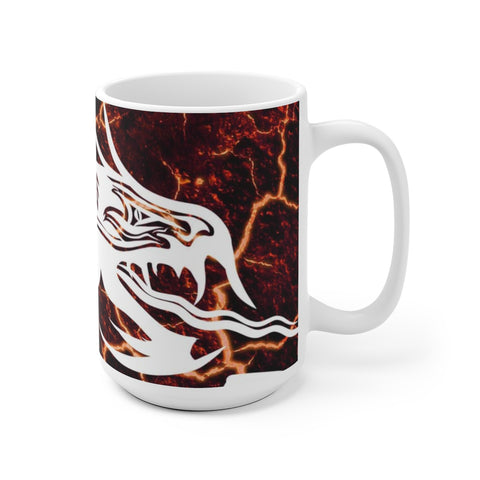 Dragon (Ver 1.0) - White Ceramic Mug