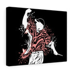 Tiger Splash Canvas Gallery Wraps
