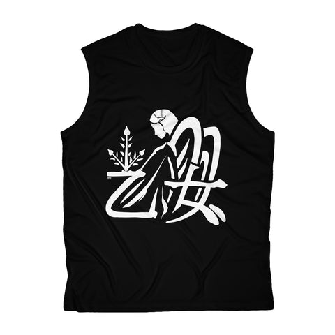 Virgo Men's Sleeveless Performance Tee