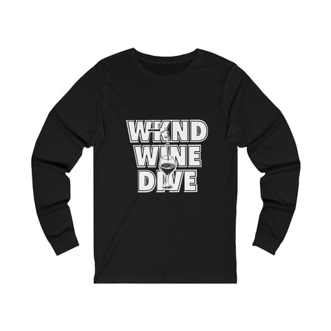 Wine Dive - Unisex Long sleeve Tee