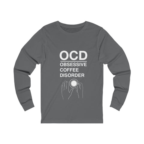 OCD (Yes it's a Thing) - Unisex Long sleeve Tee