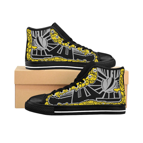 DFZ-9s Smileys Men's High-top Sneakers