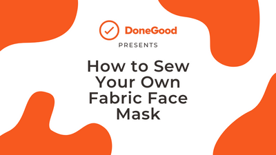 How to Sew Your Own Fabric Face Mask